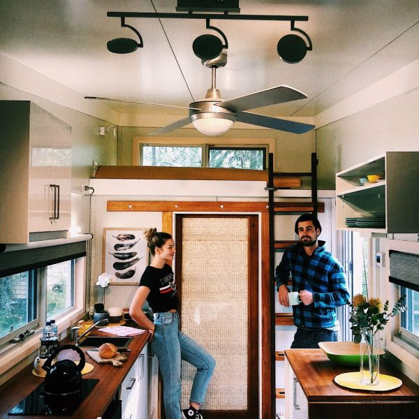 stay in a tiny house as a bnb